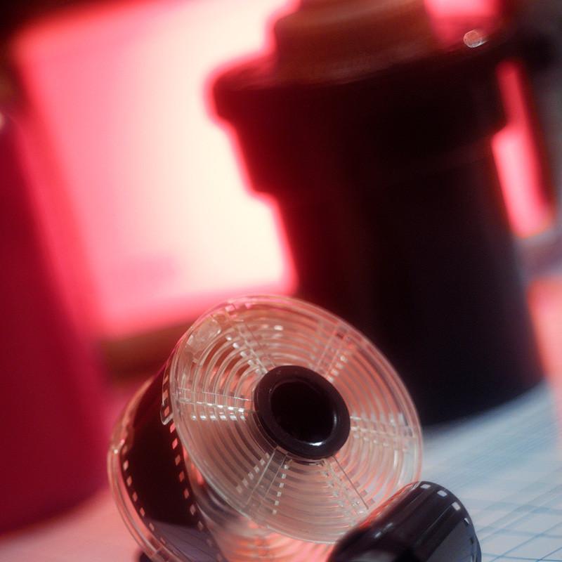 Workshop zwart-witfilm ontwikkelen
